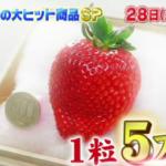 特大いちご「美人姫」に超貴重な白いいちご「天使の実」は通販で取り寄せ可能!【ジョブチューン】