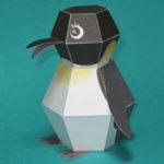 ペンギン爆弾(カミカラ)がカワイイ!作り方や通販で購入は?型紙は?【ペーパークラフト】